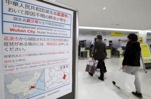 Hasta el momento, también se han confirmado dos casos en Tailandia y uno en Japón.