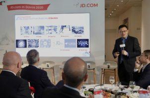 La empresa JD.com tiene interés de explorar las opciones de convertir a Panamá en su centro de operaciones logísticas.