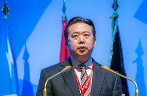 El expresidente chino de Interpol y antiguo viceministro de Seguridad Pública, Meng Hongwei FOTO/AP