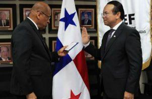 El nuevo superintendente de Bancos, Amauri Castillo es abogado y especialista.