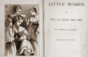 """""""Mujercitas"""" ha inspirado a generaciones de escritoras. Primera edición del libro, publicado en 1868. Foto / Orchard House, de Louisa May Alcott."""