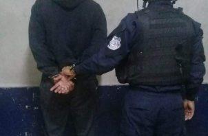 El sujeto fue detenido.