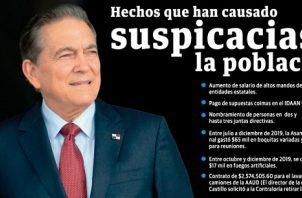 Laurentino Cortizo puso en marcha el plan de austeridad al iniciar su gestión.