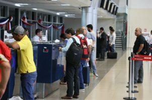 Un total de 588,639 viajeros pasaron por los aeropuertos. Foto/Cortesía