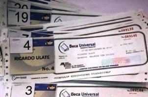 La asistencia social se llamará Programa de Asistencia Social Educativa Universal. Foto: Panamá América.