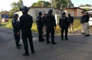 El director nacional de la PN Jorge Miranda, indicó que estos operativos se mantendrá para dar con la captura de los asesinos. Foto/Eric Montenegro