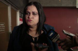 Leyda Sáenz, fiscal anticorrupción, encargada de llevar el caso Pandeportes. Archivo