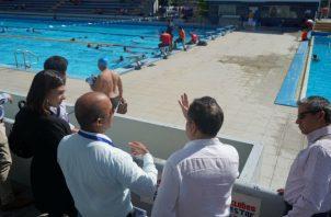 Recorrido en la piscina Eileen Coparropa Foto Pandeportes