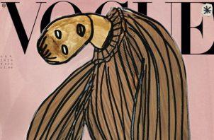 Ocho artistas diseñaron portadas para enero. Foto ilustrativa /  Vogue Italia.