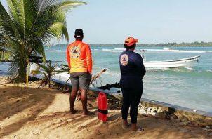 El Sinaproc pide a la ciudadanía no acudir a las playas caribeñas para evitar accidentes. Foto: Panamá América.