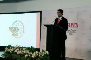 Apex llevó a cabo la toma de posesión de la nueva Junta Directiva Visión 2020. Foto: Cortesía.