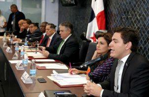 El primer debate de dicho proyecto iniciaría a las 11:00 de la mañana en la Comisión de Credenciales. Foto: Panamá América.