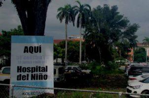 Hospital del Niño agoniza, en espera de una solución. Foto: Archivo.