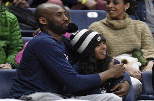 Kobe Bryant y su hija Gianna. Foto:AP