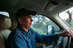 """""""Si se levanta el muro, será la nueva frontera"""", dijo Richard Drawe, un texano que vendió tierra al Gobierno. Foto / Ilana Panich-Linsman para The New York Times."""