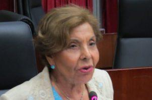 La diputada Mayín Correa sostiene que este proyecto también ayudará al medio ambiente. Archivo