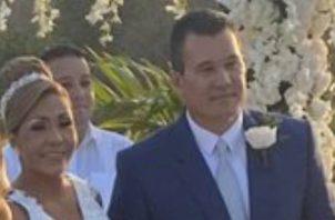 La boda de Yanibel Ábrego y Quibian Panay se realizó en la finca propiedad de la diputada de Capira.