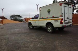La Policía Nacional mantiene operativos en esta área en la búsqueda de los posibles homicidas. Foto/Eric Montenegro