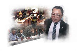 Renilio Martelo Robinson, suplente de Arquesio Arias denunció que el diputado no lo ha querido habilitar para que ocupe la curul.