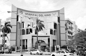 La vieja instalación del Hospital del Niño no tiene posibilidades de crecer en el lugar en el que se encuentra actualmente. Foto. Archivo..