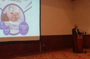 En el conversatorio se compartió  sobre las ventajas de Panamá como el país más interconectado del hemisferio. Foto/Cortesía
