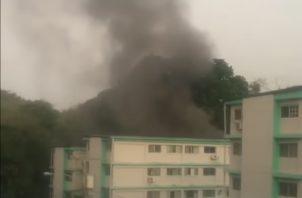 Se desconocen las causas del incendio registrado en La Locería.