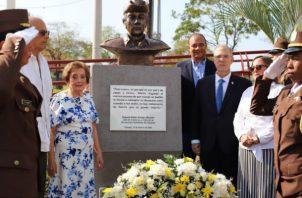 En el acto participó la familia de Omar Torrijos, cuerpo diplomático e invitados especiales.