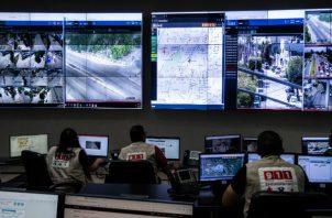 México registró más de 34 mil 500 homicidios en el 2019. Monitoreando video de todo Sinaloa. Foto / Cesar Rodriguez para The New York Times.