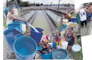 Las quejas contra el Idaan, por falta de agua potable en diferentes puntos del país, son constantes.