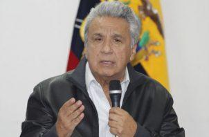 Lenín Moreno expresó su solidaridad con las familias de los fallecidos. Foto: Archivo/Ilustrativa.