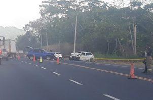 Los cinco heridos fueron llevados a urgencias de la Policlínica de Nuevo San Juan. Foto/Diomedes Sánchez