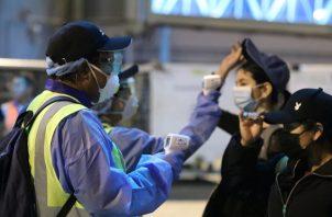 El pasajero chino llegó al país el 5 de febrero. Foto: Archivo.