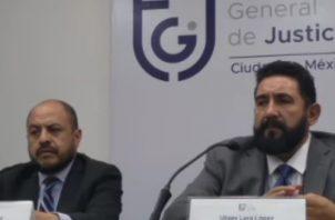 La Fiscalía General de Justicia de la Ciudad de México, en conferencia de prensa manifestó que siguen varias líneas de investigación para esclarecer el asesinato de la pequeña Fátima. FOTO/Tomada de @FiscaliaCDMX