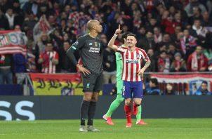 Atlético llegará a Anfield con una pequeña ventaja.