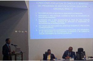 Las reformas a la Beca Universal se debaten en este momento en la Asamblea Nacional.
