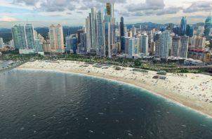 Alcalde José Luis Fábrega solo se está enfocando en el proyecto de la recuperación de playas. Policía