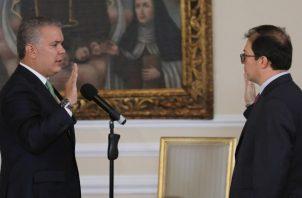 Presidente colombiano Iván Duque. FOTO/EFE