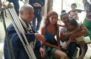 Al parecer la joven fue acogida hace 17 años en el área de Bayano.