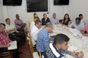 La mesa de trabajo se instaló el 19 de febrero en la Presidencia. Foto: Cortesía