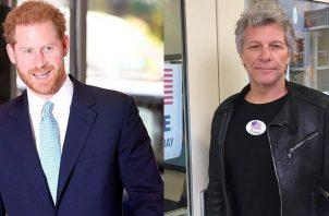 Harry y Jon Bon Jovi. Foto: Instagram