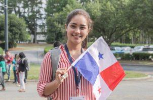 Kelyn Ríos, maestras panameñas que forma parte del programa. Cortesía