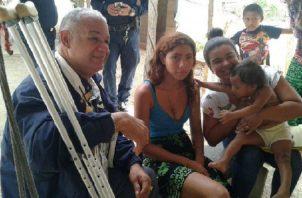 Grifina López, residente en la comarca Wargandí,  es la joven que cuenta con algunos rasgos de la desaparecida niña Mónica Serrano. Foto: Archivo