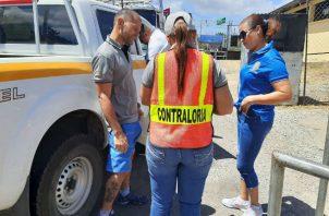 Funcionarios han inspeccionado 757 vehículos oficiales.