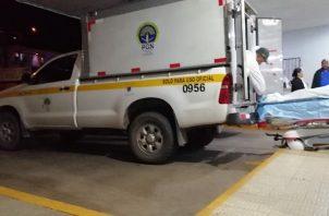 El ciudadano fue trasladado a la policlínica Blas Gómez Chetro de Arraiján, en donde los galenos de turno dictaminaron su muerte. FOTO/Eric Montenegro