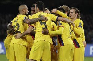 Griezmann rescató al Barcelona.