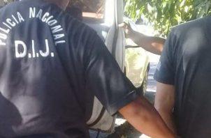 La accion policial se dio en coordinacion con funcionarios del Ministerio Publico en una residencia, ubicada en la Calle Antonio Burgos final, en el corregimiento de San Juan Bautista.