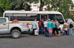 Cerca de 579 docentes serán transportados por el Senan a las comarcas Ngäbe Buglé y Guna, Darién y el Golfo de Panamá.
