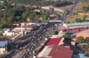 Desde Loma Campana hasta La Espiga de La Chorrera, hoy se llevará a cabo la segunda etapa de la inversión de carriles. Internet