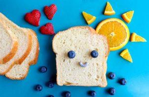 La manera en que presentas los alimentos a los niños debe ser atractiva.