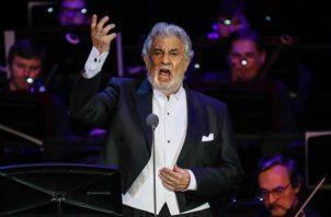 El tenor Plácido Domingo  ha sido acusado por varias mujeres por conducta inapropiada. FOTO/EFE